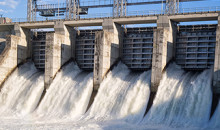 Hydro electric dam